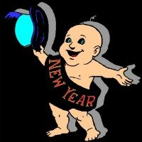Happy New Year {new year baby}