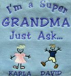 Personalized T-shirt: I'm a Super GRANDMA Just Ask... - Gifts for Grandma {and Mom} from The Babbling Baby