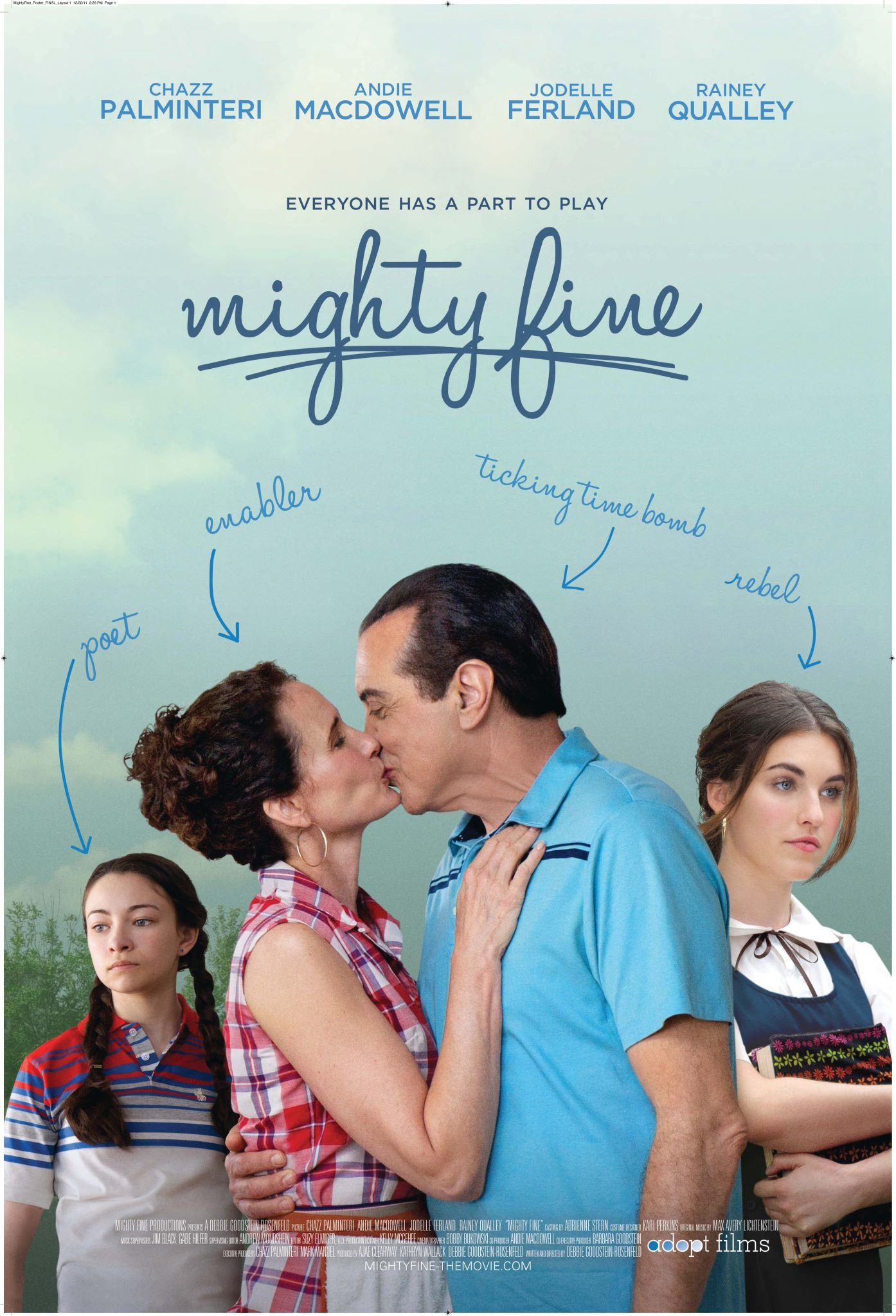Mighty Fine Coming to Select Theatres on May 25th {featuring Chazz Palminteri, Andie McDowell, Rainey Qualley and Jodelle Ferland}