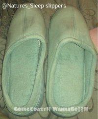 Nature's Sleep slippers
