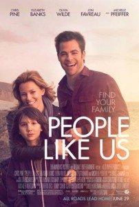 Chris Pine and Elizabeth Banks in People Like Us #PeopleLikeUs