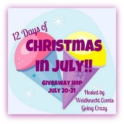12 Days of Christmas in July hosted by Weidknecht Events Going Crazy {July 20-31}