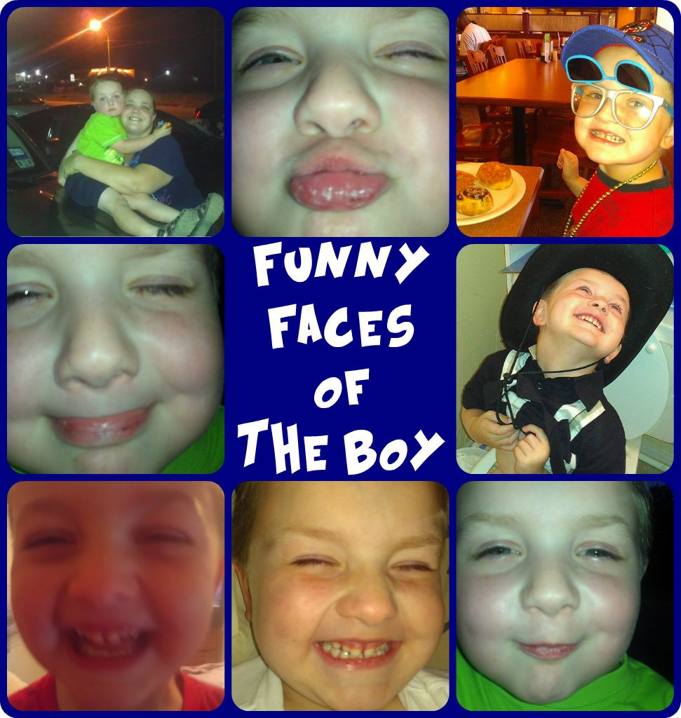 Funny Faces of The Boy