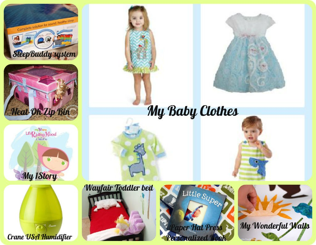 Kids/Baby Room Package from @NoiseGirls #AroundtheHouse Giveaway
