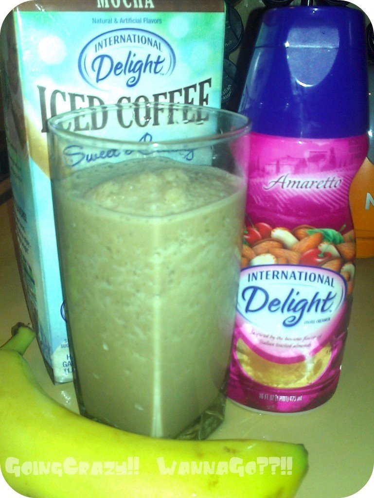 Mommy's ABC Smoothie {Amp Up Your Iced Coffee with International Delight} #IcedDelight