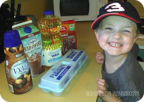Summer Fun making brownies #IcedDelight