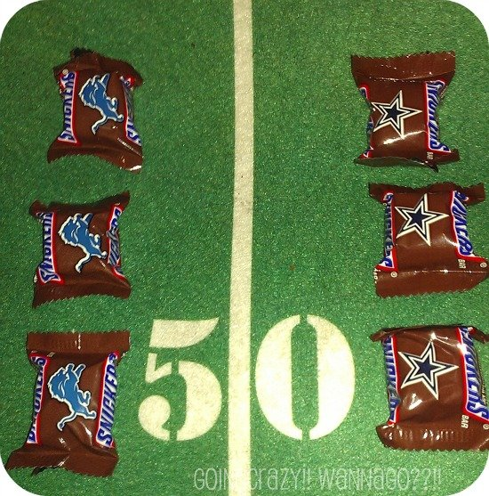 Detroit Lions vs Dallas Cowboys #SnickersMinis #CBias