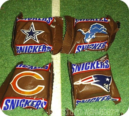 Favorite NFL teams #SnickersMinis #CBias