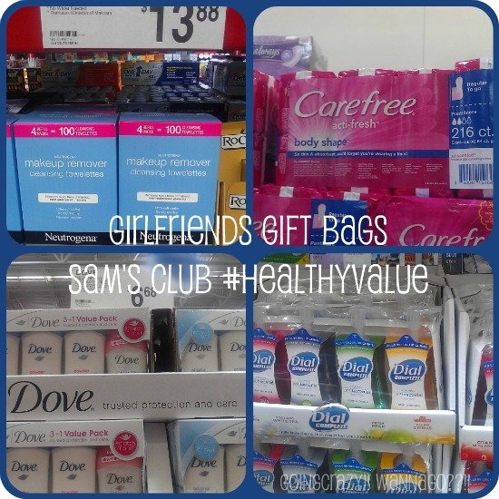 Girlfriends Gift Bags Sams Club #HealthyValue #CBias