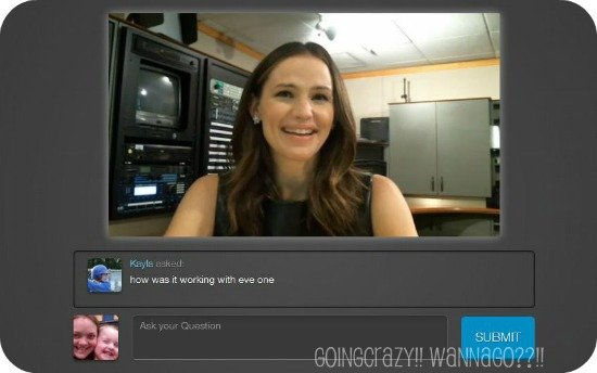 Live chat with Jennifer Garner about The Odd Life of Timothy Green