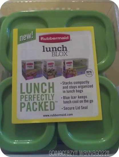 Rubbermaid lunch blox {Lunch Perfectly Packed}
