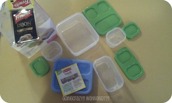 Rubbermaid lunch blox pieces