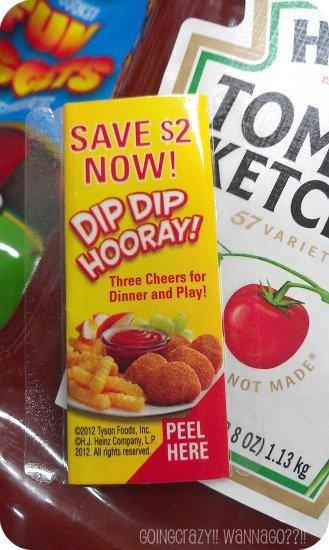 Save $2 Now coupon on Heinz ketchup #DipDipHooray