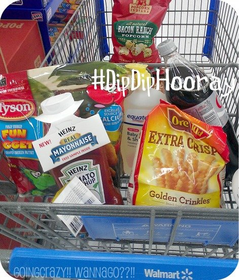 Shopping for #DipDipHooray Family Game Night
