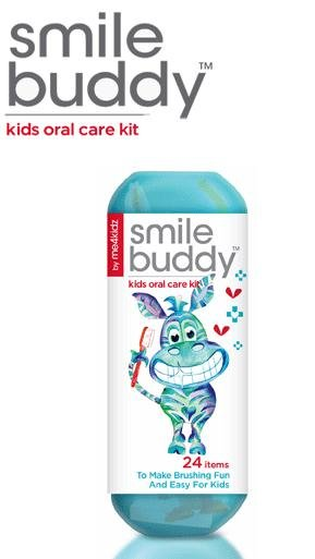 Smile Buddy kids oral care kit by me4kidz (TM)