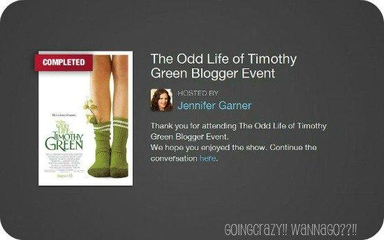 The Odd Life of Timothy Green Blogger Event {Live conversation with Jennifer Garner}