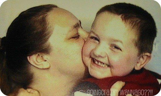 kissing my boy