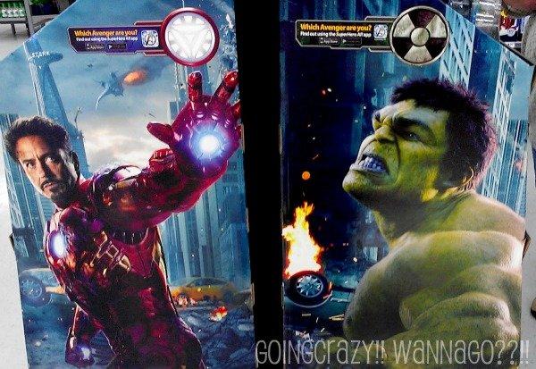 Avengers toy display #MarvelAvengersWMT