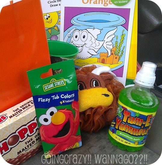 My boy's #MascotWear gift bag
