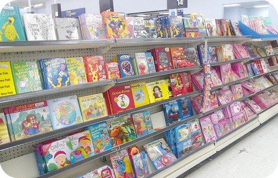 books for children at Walmart