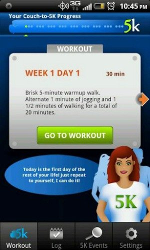 Couch to 5k workout #CBias