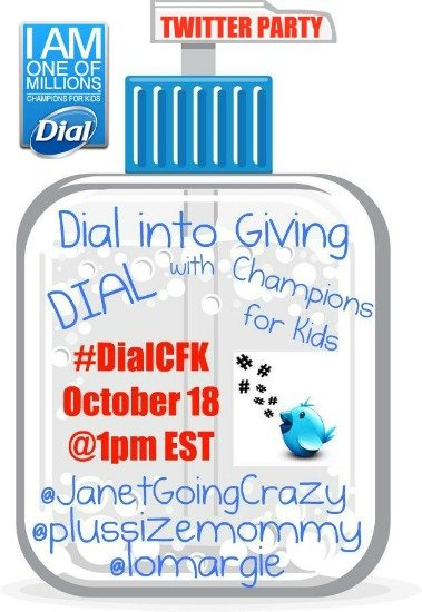 #DialCFK Twitter Party - October 18 @1pm EST