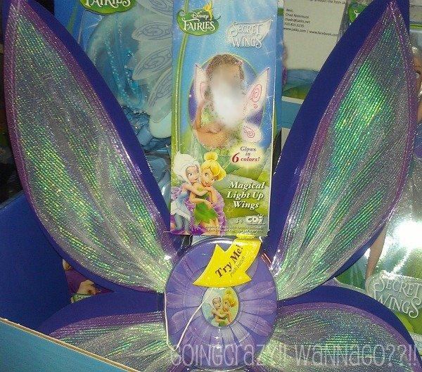 Disney Fairies Secret of the Wings Magical Light Up Wings #DisneyFairies