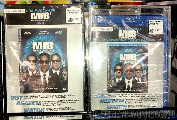 Pre-Purchase Men In Black 3 DVD Blu-Ray #SeeMIB3