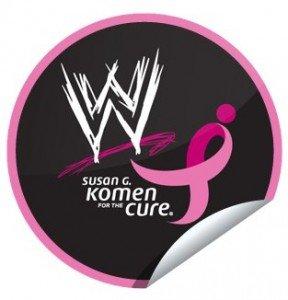 WWE supports Susan G Komen #WWEMoms