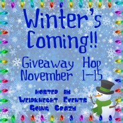 Winter's Coming Giveaway Hop {hosted by Weidknecht Events Going Crazy} November 1-15