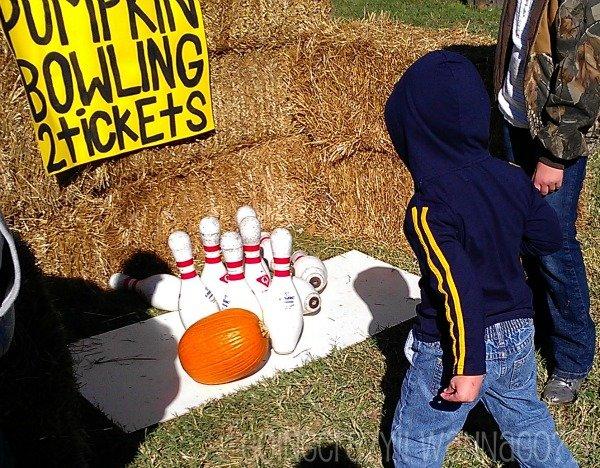 pumpkin bowling #HotPepperFestival