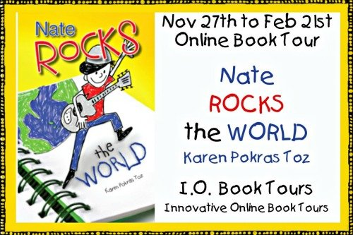 Nate Rocks the World by Karen Pokras Toz {Book Tour}