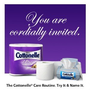 Pampering guests with Cottonelle Care Routine