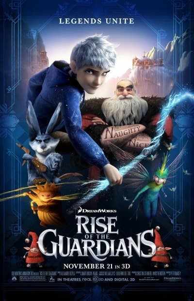 Rise of the Guardians movie poster #RiseoftheGuardians