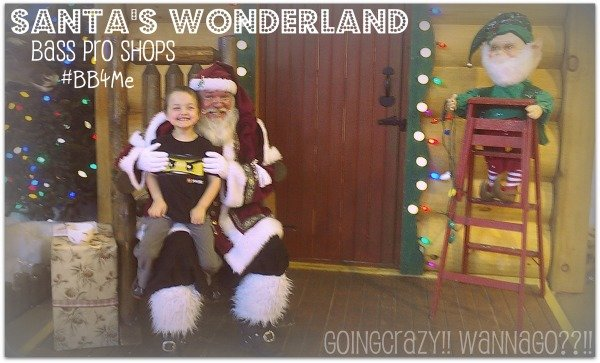 Santa and The Boy at Santa's Wonderland #BB4Me