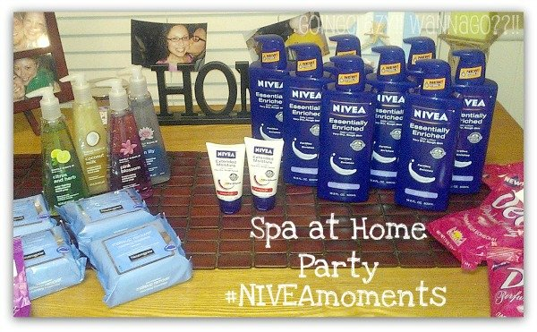 Spa at Home Party #NIVEAmoments