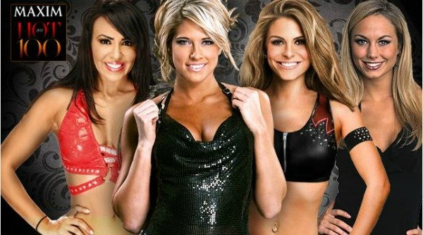 WWE Divas {Maxim Top 100} #wwemoms