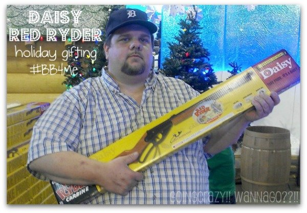 holiday gifting Daisy Red Ryder BB Gun #BB4Me