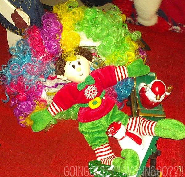 Elf Magic in Madagascar 3 circus wig