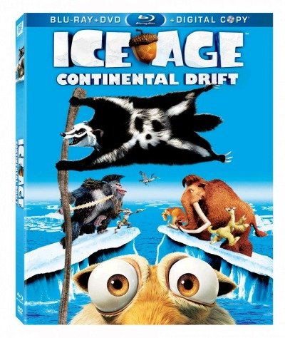 Ice Age Continental Drift on Blu-Ray/DVD on 12/11/12