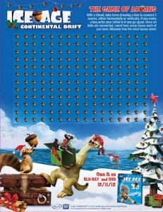 Ice Age: Continental Drift Dots Game @IceAge