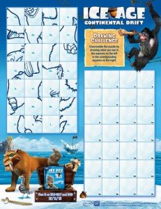 Ice Age: Continental Drift Drawing Challenge @IceAge