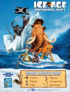 Ice Age: Continental Drift Hidden Objects Game @IceAge