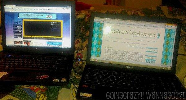 JanetGoingCrazy got a new laptop