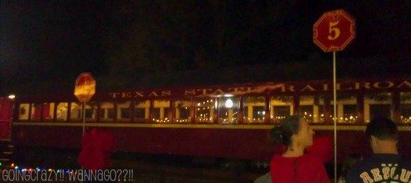 Texas State Railroad Polar Express