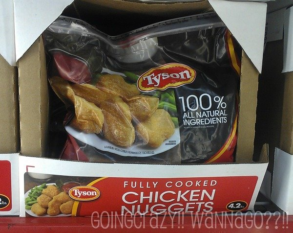 Tyson chicken nuggets #MealsTogether
