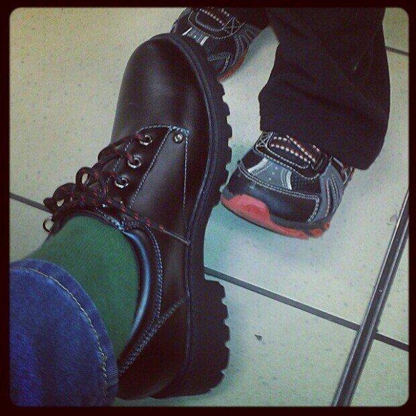black boy-like shoes from Sears #styleSurprise
