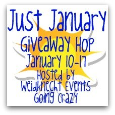 Just January Giveaway Hop {hosted by Weidknecht Events Going Crazy} January 10-17