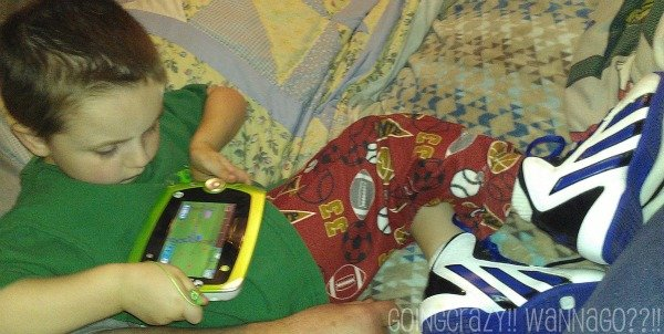 new LeapFrog LeapPad 2 and basketball shoes