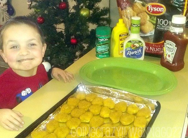 ready to decorate @ClubTyson chicken nuggets #MealsTogether